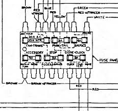 javelin fuse panel diagram the amc forum page  here is the best i could get it to copy from the tsm had to play around zoom to make stuff viewable lol unless you d like the whole wiring diagram