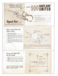 signal stat 900 wiring solidfonts wiring diagram for old chrome clamp on turn signal the h a m b