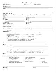 Medical Chart Note Templates Medical Chart Note Format Form Asthma Soap Template New Resume And