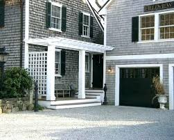 O Black Garage Doors Cool White House For With Modern