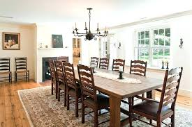 area rug under dining room table dining room table rug round farmhouse dining table dining room