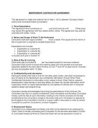 Consulting Contract Template Free Download Advisory Agreement Template 650 842 Advisory Agreement