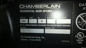 chamberlain liftmaster garage door openerLiftmaster 12 hp Garage Door Opener Failure