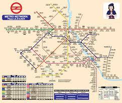 Dmrc Fare Chart Delhi Metro Pink Line New Corridor Between Lajpat Nagar And