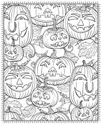 Put tape at the back of each character and stick. Printable Halloween Coloring Pages For Adults Popsugar Smart Living
