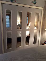 image mirrored closet. bifold closet doors transformed into mirrored french these are actually my after using image
