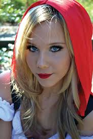 red riding hood halloween makeup