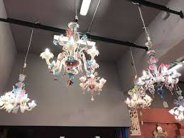 galleria san marco glass chandeliers
