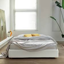 Frame Bed without Headboard (Optional Storage)