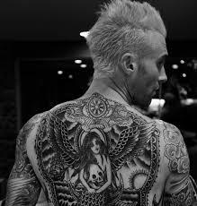 Galerie Slavní A Pomalovaní David Beckham Má Přes 40 Tetování Kdo