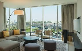One Bedroom Apartment Living Room One Bedroom Apartment Sheraton Grand Hotel Dubai