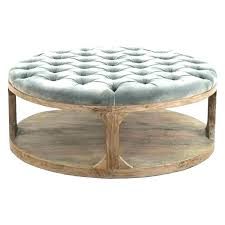round upholstered coffee table tufted coffee table ottoman round tufted coffee table ottoman