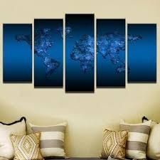 royal blue canvas wall art