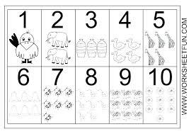 Identifying Numbers Worksheets Kindergarten Number Nine Worksheet 1 ...