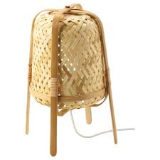 Table Lamp Knixhult Bamboo
