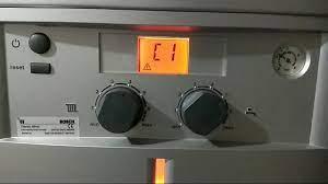 Bosch Kombi C1 Arzıası Nasıl Giderilir? (Classic silver,Condense,clas  2000,condense2500 C1 hatası) - YouTube