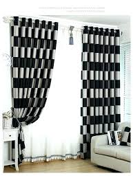 Red And Black Curtains Bedroom Chic Bedroom In Red Black And White ...