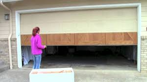 garage door refacingHow to install your GarageSkins Realwood Overlay System on your