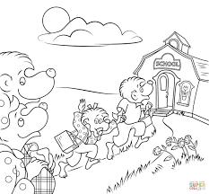 Kleurplaat Spelend Kind Kleurplaat Kinderen Animaatjes Nl
