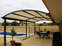 dome patio with crank truss all polycarbonate roof