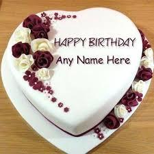 Idea Birthday Cake And Create Rose Birthday Cake Image With Name
