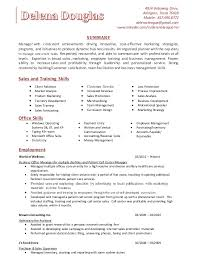 Training Skills Resume Under Fontanacountryinn Com