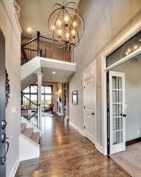 foyer lighting transitional