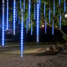 Led Icicle Drip Lights In Motion Details About Omgai Led Meteor Shower Rain Lights Waterproof Drop Icicle Snow Blue