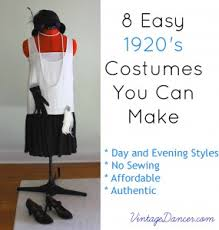 Decorate Your Own Clothes 10 Easy 1920s Costumes You Can Make
