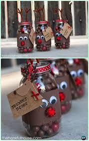 Christmas Decorated Mason Jars DIY Mason Jar Christmas Gift Wrapping Ideas Instructions Mason 33