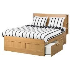 ikea storage bed frame. BRIMNES Bed Frame W Storage And Headboard Oak Effect/leirsund Standard King - IKEA Ikea