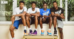 Giannis antetokounmpo plays as forward for in the nba. For The Family Giannis Antetokounmpo And His Brothers Built The Nike Freak 1