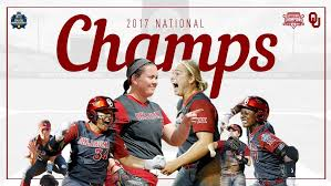 The ball used in the game…. National Champions Again University Of Oklahoma Ou Softball College World Series Softball