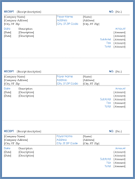 Paid Receipt Template Word 21 Free Cash Receipt Templates For Word Excel And Pdf