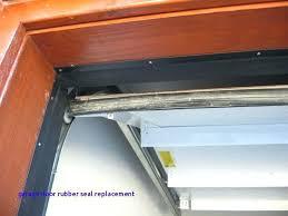 rubber seal for garage door garage door trim door trim garage door trim seal side storm