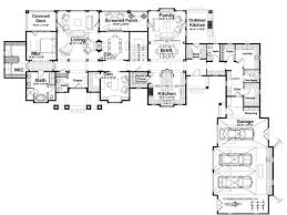 one level house plans l shaped