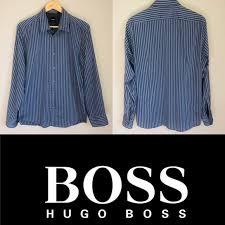 Boss Hugo Boss Button Down Regular Fit Shirt Large