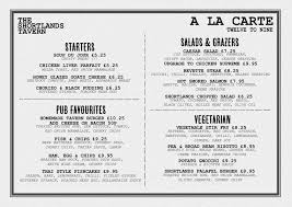A La Carte Menu Template a la carte menu template Ninjaturtletechrepairsco 1