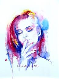52954fa20c4bc9715f153ff4803ef653 abstract portrait watercolor portraits jpg
