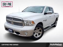 Used Bright White Clearcoat 2017 Ram 1500 Lone Star Silver 4x4 Crew ...
