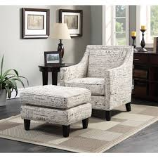 French Ottoman picket house uer6362pc emery accent chair & ottoman in french 7433 by xevi.us