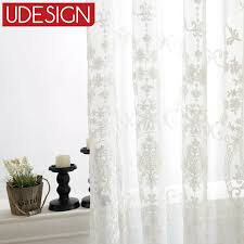 find more curtains information about european white embroidered voile curtains bedroom sheer curtains for living room