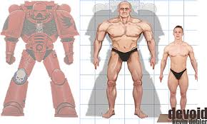 Space Marine Height Chart Project Make A Properly Scaled Space Marine In Recon