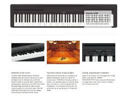 yamaha 88 key digital piano. yamaha p45 88-key digital piano 88 key