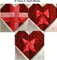 Free Quilt Patterns From Carol Doak & Have-A-Heart Block Designs In A 6