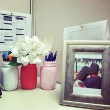 office cubicles decorating ideas. Office Cube Decor. Design Cubicle Decoration Of Charming Images Decor Painted Vintage Mason Jars Cubicles Decorating Ideas D