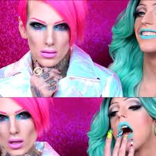 jeffree star cosmetics laganja estranja get ready makeup video drag rupauls drag race season 6 haus