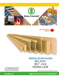 Bci Joist Span Chart Bci Floor Joist Span Chart Best Picture Of Chart Anyimage Org