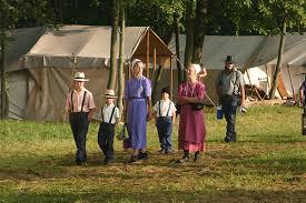 rumspringa pennsylvania german german language blog an amish family on a morning stroll