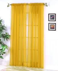 yellow curtains sheer sheer curtain colors pale yellow sheer curtains
